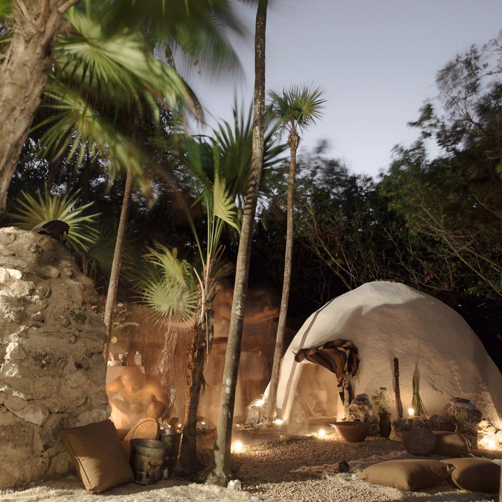 Шаманская баня в Мексике