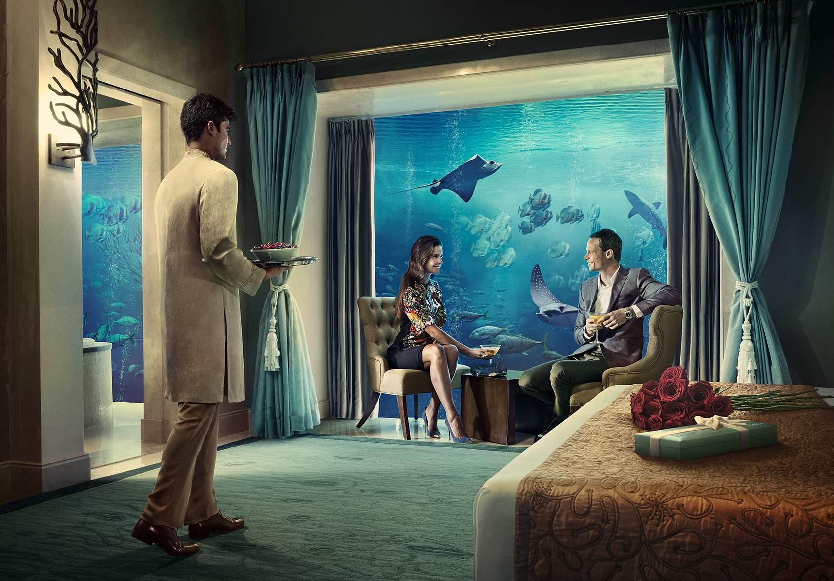 Необычные отели Дубая